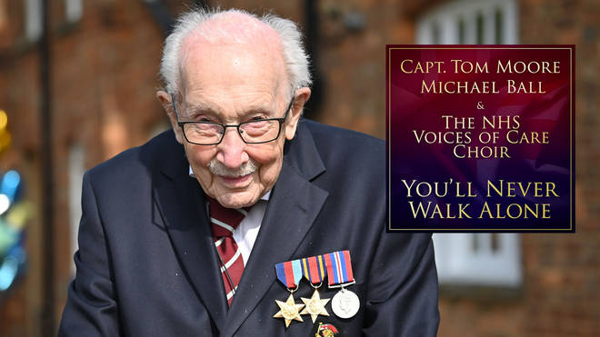 Captain Tom Moore is the UK's Number 1 with 'You'll Never Walk Alone'