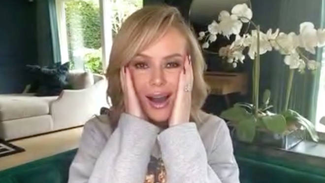 Amanda Holden finds out her song has gone Top 5