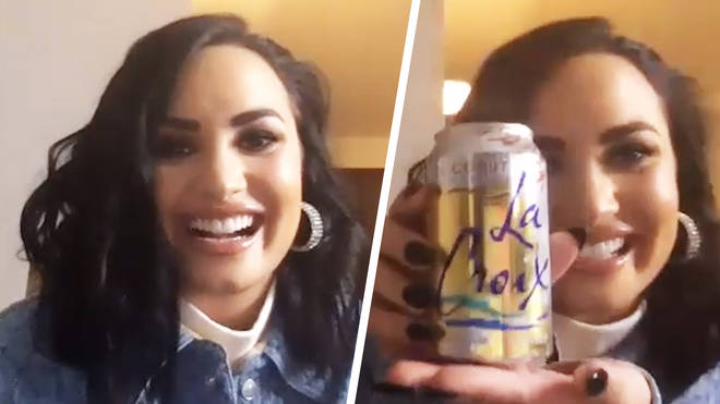 Demi Lovato sneaks food home from her music video shoots