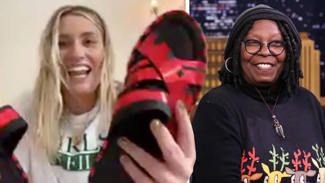 Whoopi Goldberg gave Ella Henderson her shoes