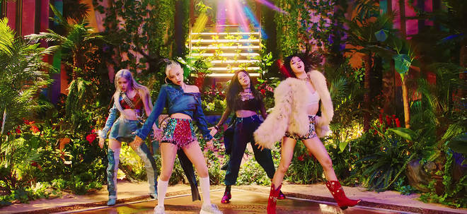 BLACKPINK in the music video for 'How You Like That'
