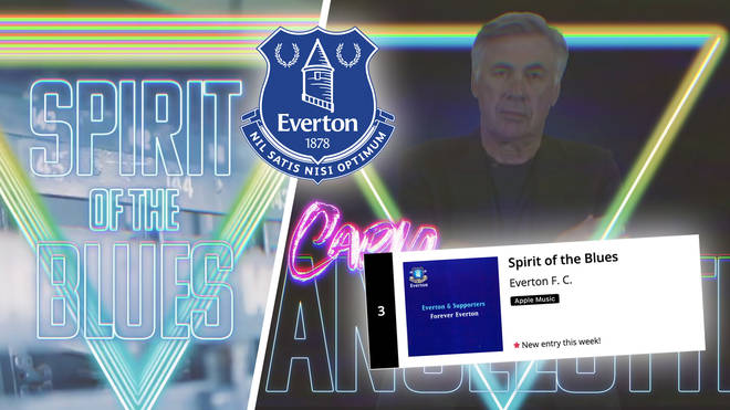 Everton's 'Spirit of the Blues' reaches Number 3