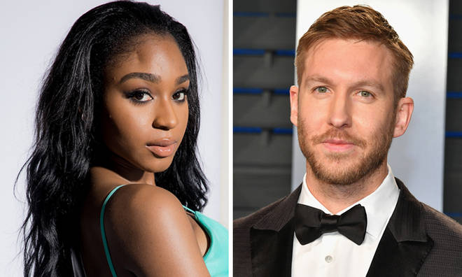 Calvin Harris and Normani