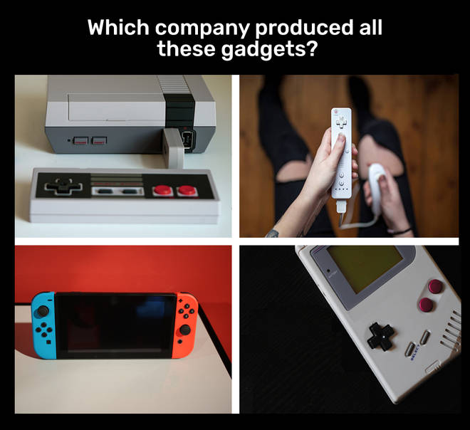 Which Company Produced All These Gadgets