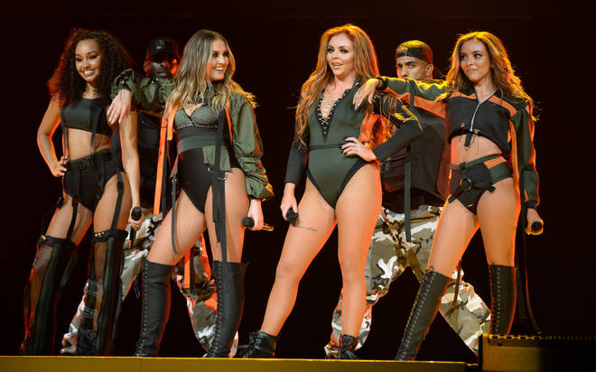 Little Mix on tour with Ariana Grande
