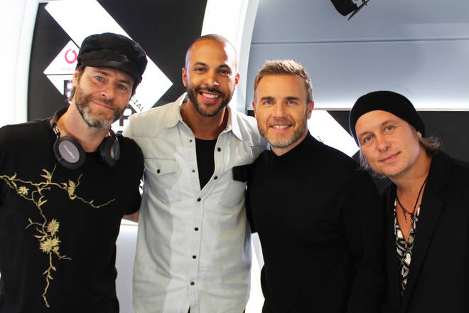 Take That with Marvin Humes