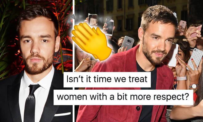 "Liam Payne demands ""treat women with more respect"""