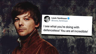 Louis Tomlinson's 'Defenceless' enters the chart