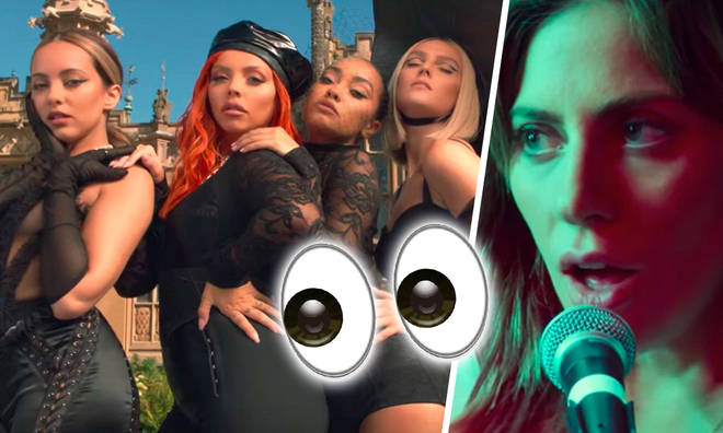 Little Mix take on Lady Gaga for Number 1