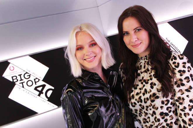 Zara Larsson and Kat Shoob
