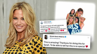 Girls Aloud's 'Hear Me Out' charts following fan campaign for Sarah Harding