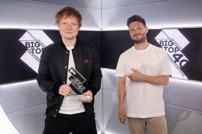 Ed Sheeran has scored his 12th Number 1 with 'Bad Habits'