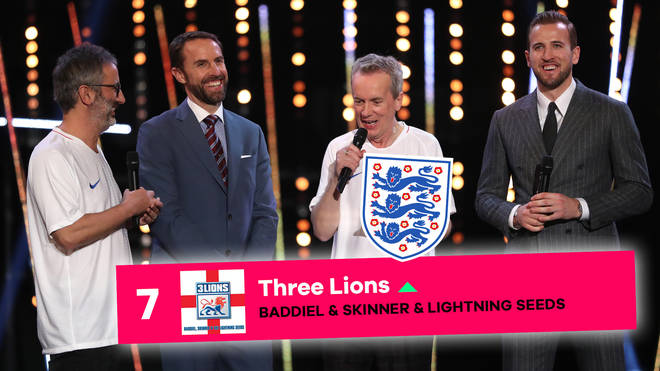 Can England get 'Three Lions' to Number 1 this week?
