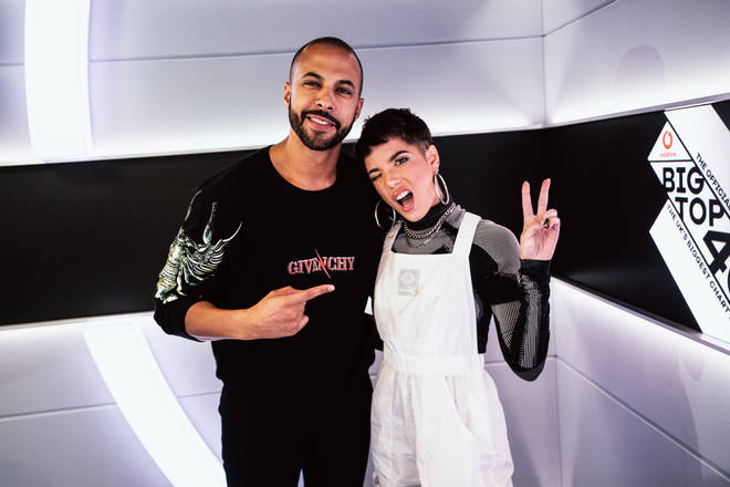 Marvin Humes and Halsey