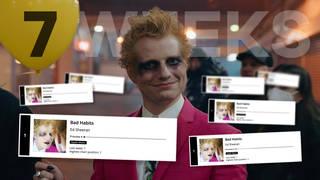 Ed Sheeran marks 7 weeks at Number 1 with 'Bad Habits'