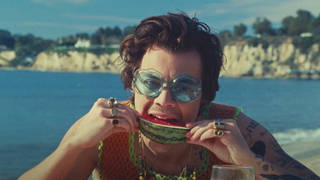 'Watermelon Sugar' becomes second longest-running chart hit of all-time