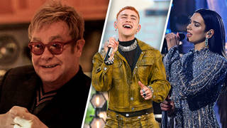 Elton John gushes over young pop stars to Will Manning on the Official Big Top 40 Show