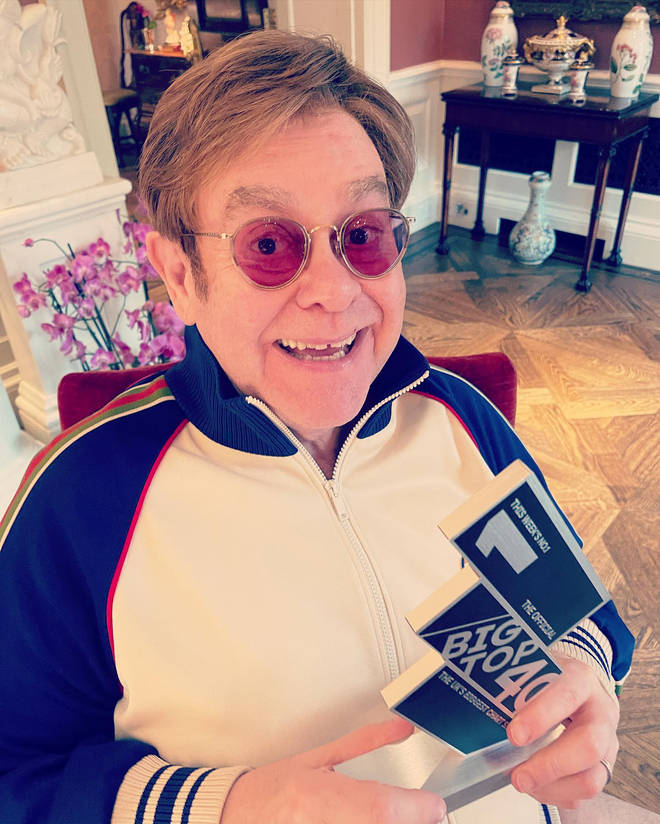 Elton John spoke to Will Manning on air