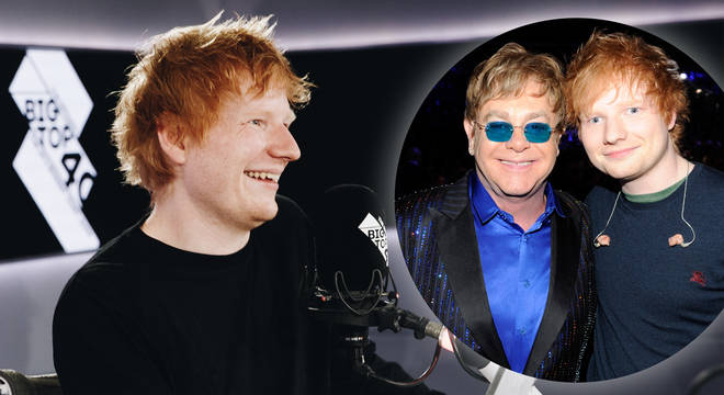 Ed Sheeran and Elton John are releasing a song together