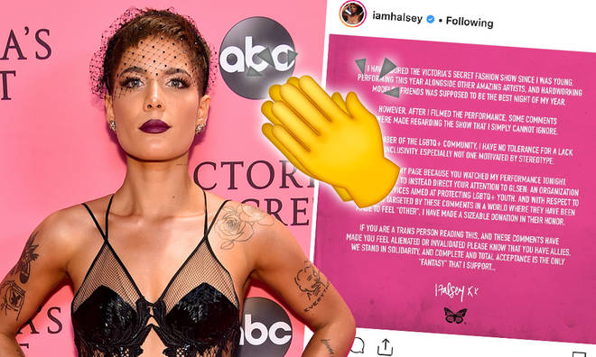 Halsey slams Victoria's Secret