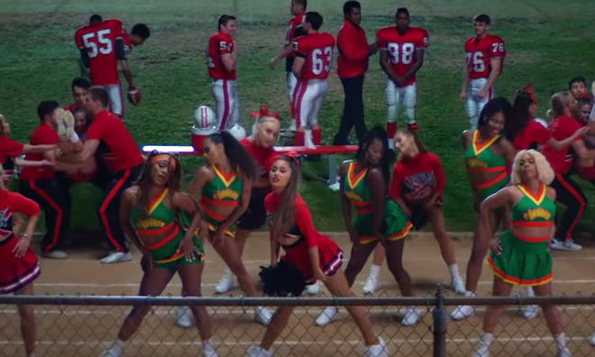 Cheerleaders scene
