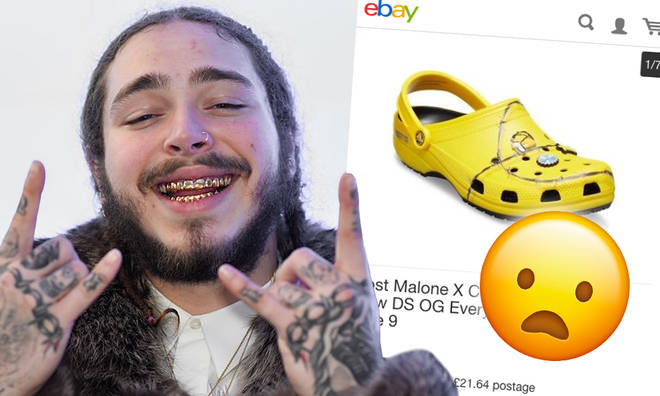 Post Malone's Crocs