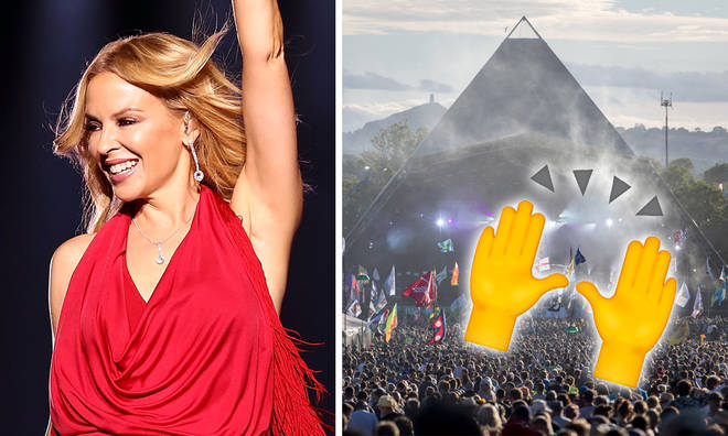 Kylie Minogue confirmed for Glastonbury 2019