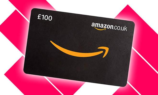 Amazon £100 Gift Card