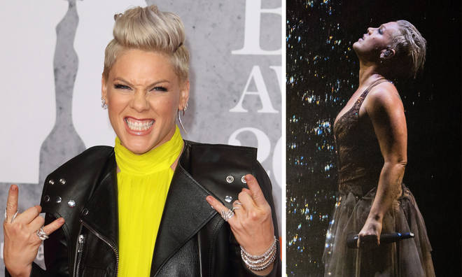Pink's 'Walk Me Home' debuts at Number 1 following BRIT Awards 2019 performance
