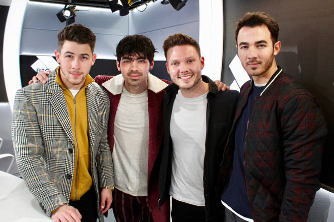 The Jonas Brothers with Will Manning
