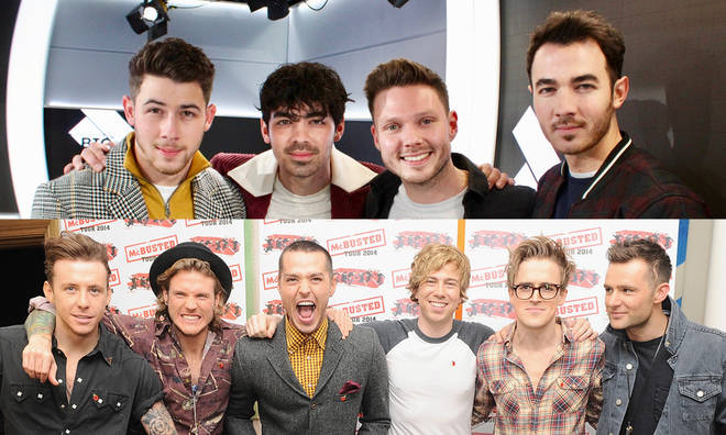 The Jonas Brothers, Busted and McFly