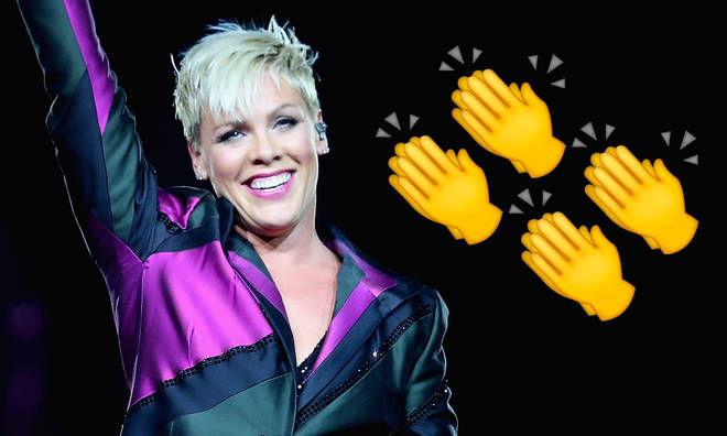 Pink makes it a month at Number 1