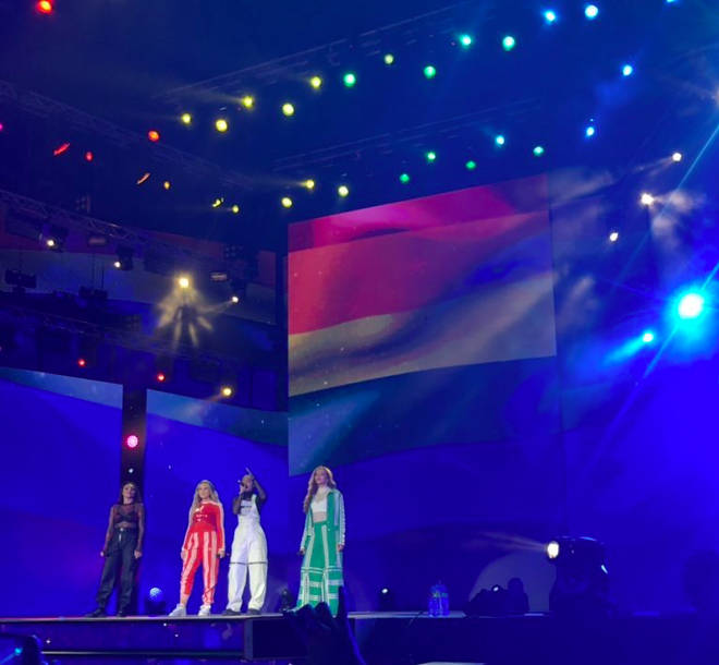 Little Mix perform 'Secret Love Song' in Dubai