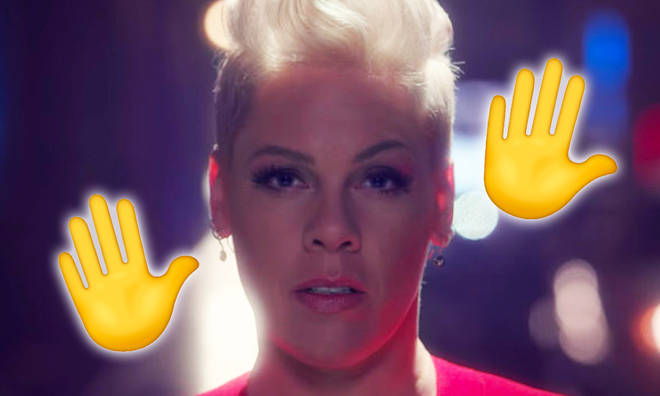 Pink climbs back to Number 1 with 'Walk Me Home'