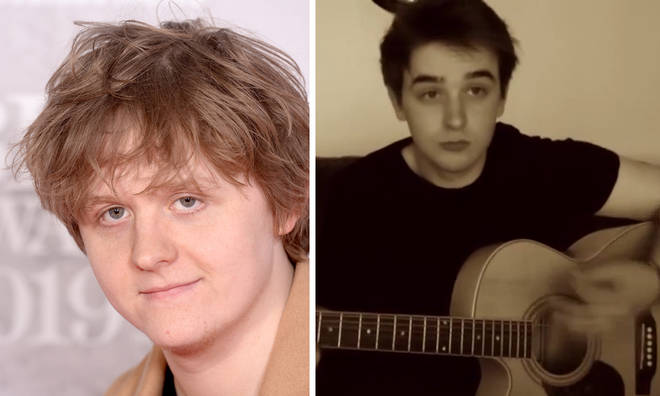 Lewis Capaldi and his older brother Warren