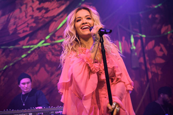 "Rita Ora & Absolut Lime Kick-Off Grammy Awards Weekend With First Live Performance Of New Song, ""Proud"" At the Absolut Open Mic Project x Spotify Event In NYC"