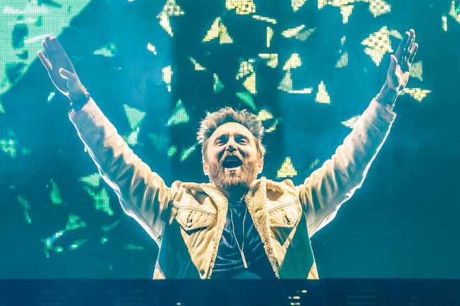 David Guetta Performs In Milan