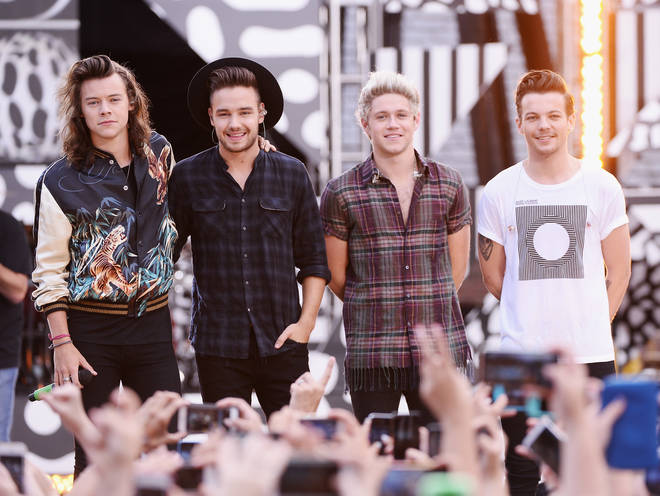"One Direction Performs On ABC&squot;s ""Good Morning America"""