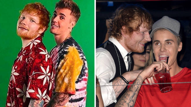 Ed Sheeran and Justin Bieber debut at Number 1 in the UK