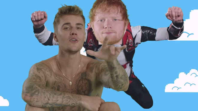 Ed Sheeran and Justin Bieber spend a second week at Number 1