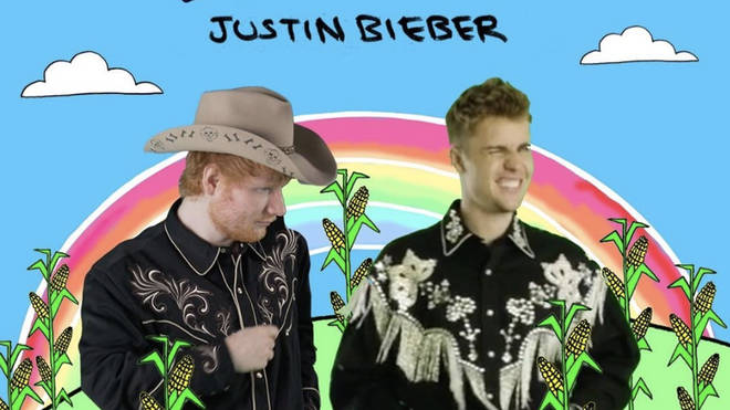 Ed Sheeran and Justin Bieber 'I Don't Care' at No.1