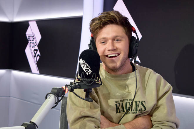 Niall Horan joined Will Manning on The Official Big Top 40